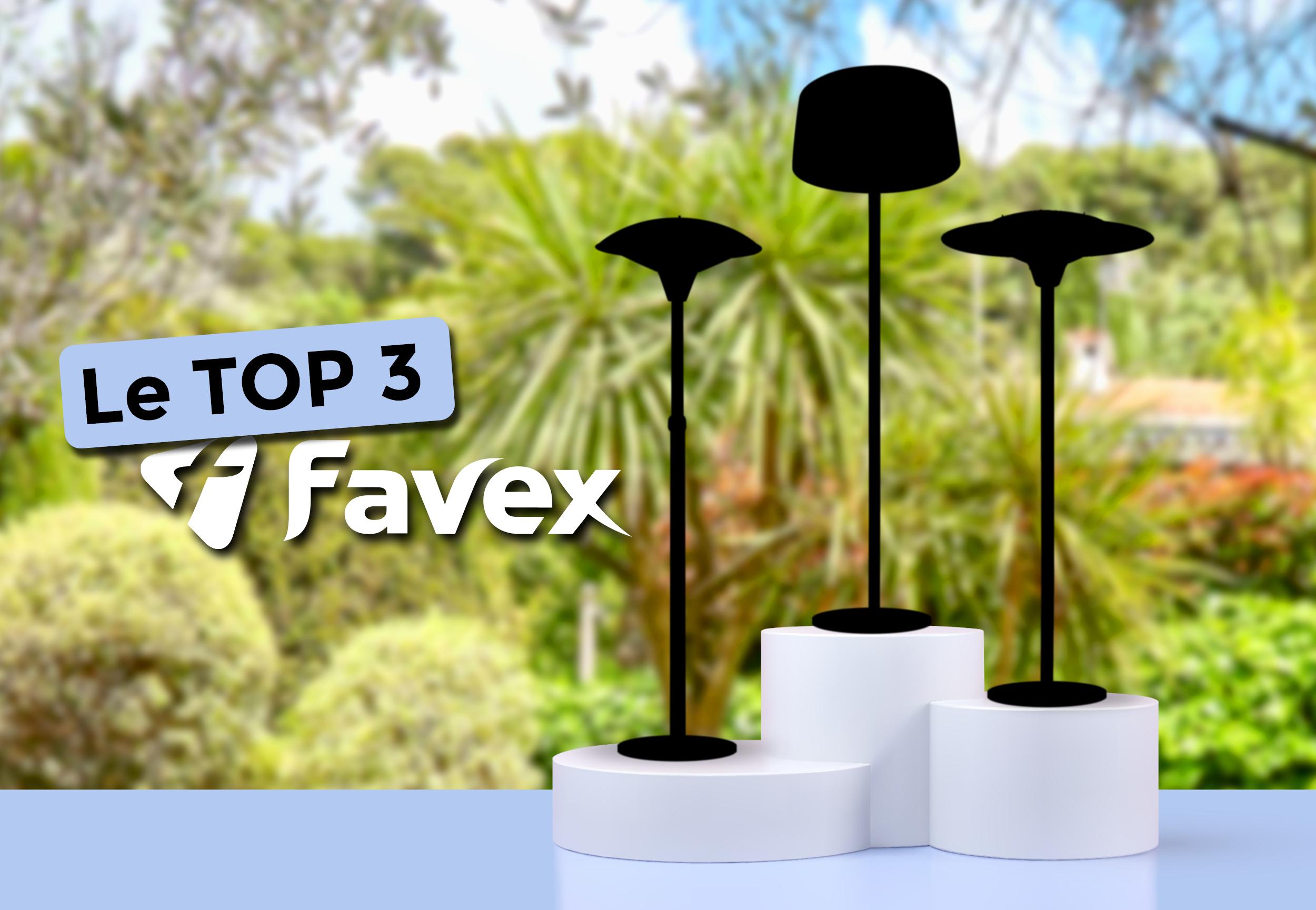Top 3 des parasols chauffants électriques Favex