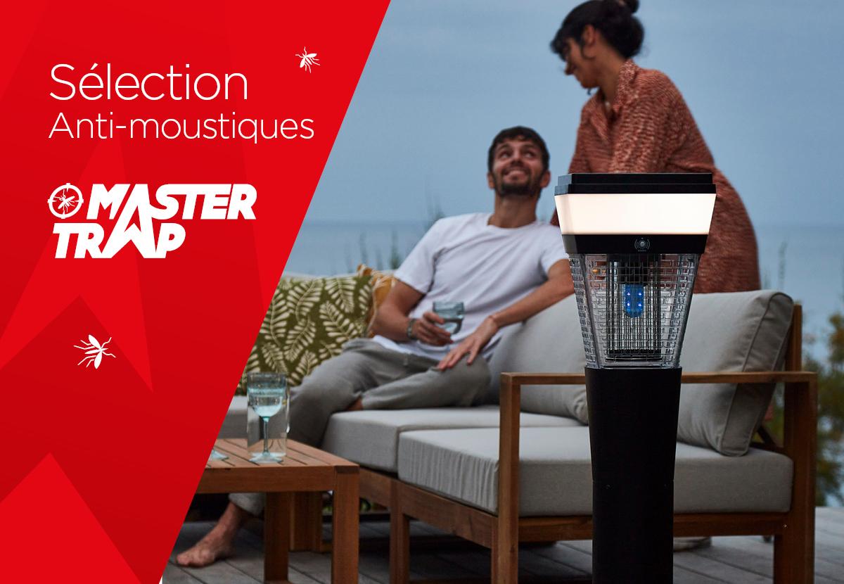Sélection anti-moustiques 2021 Master Trap by Favex