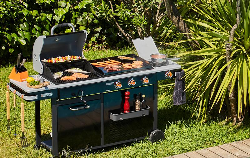 Barbecue Plancha Bi-Energy Brasero