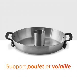 Support poulet volaille - BRASERO