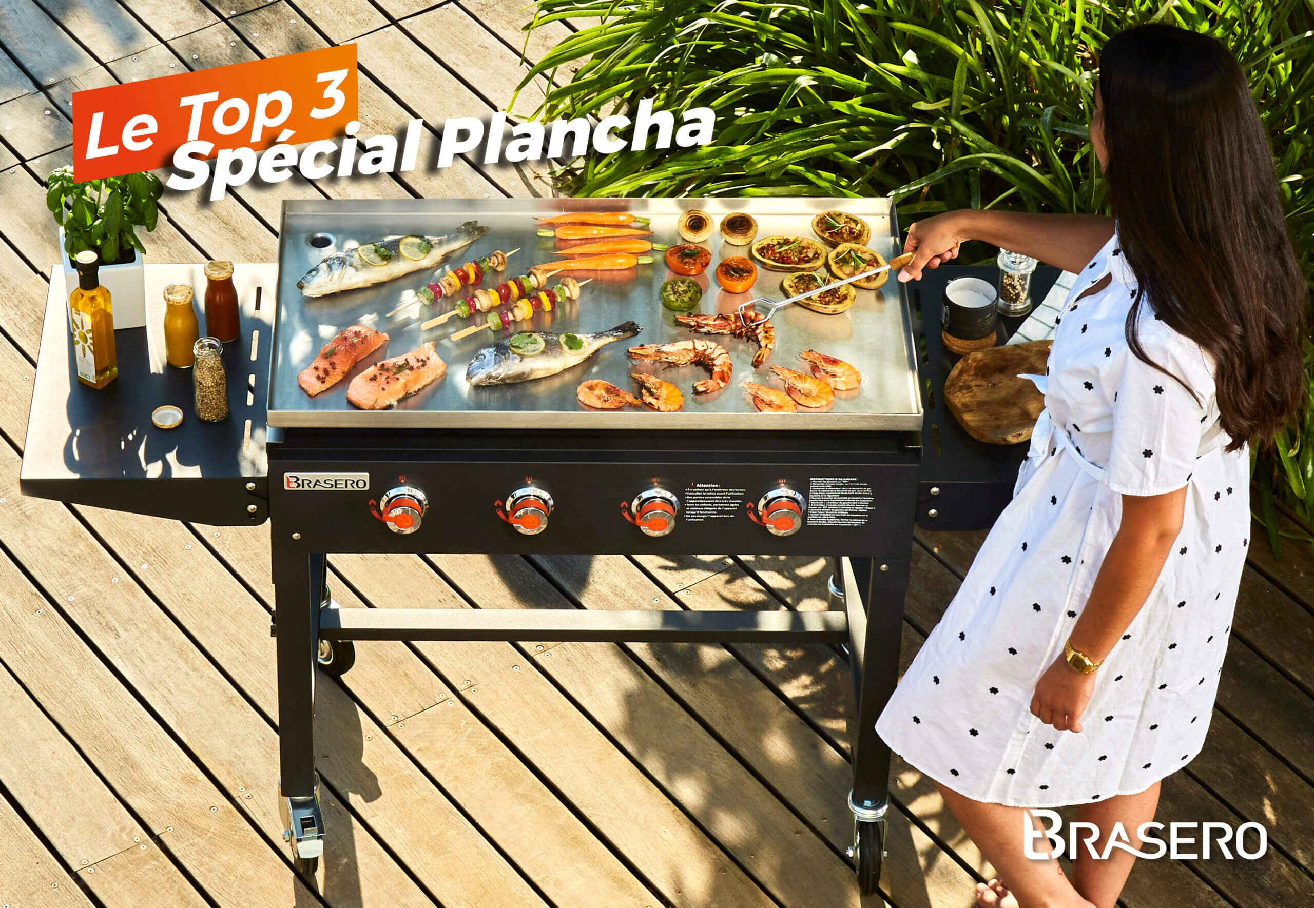 TOP 3 Plancha BRASERO