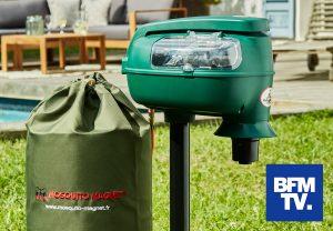 Reportage Mosquito Magnet sur BFM TV