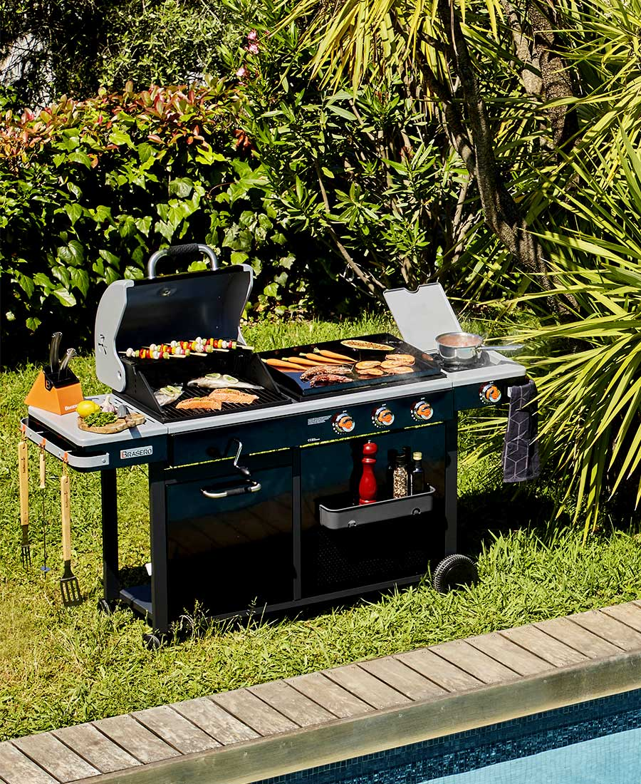 Bi-energy - Plancha barbecue BRASERO